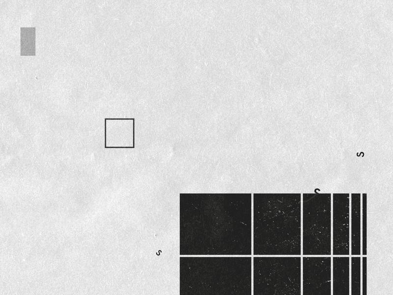 s t e p s typogaphy paper grey bw black  white minimalistic minimalism vector texture minimal illustration grain flat design