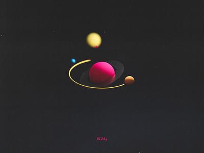 BGM4 blender minimal texture 3d art colourful stylized planetary planets planet space scifi cyclesrender blender3d 3dmodeling 3d artist 3drender 3d planetary system