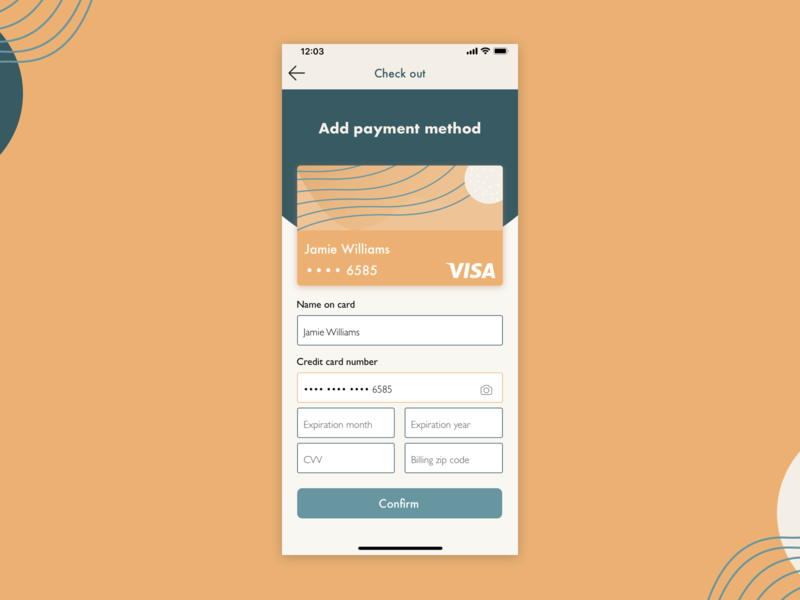 Credit Card Checkout illustraion credit card form credit card payment credit card checkout ui design ui ux color palette day 2 100 days of ui 100 day challenge 100days 002 credit card
