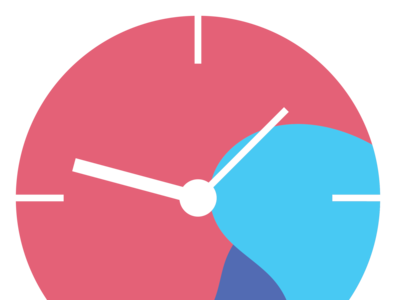 Time logo icon time