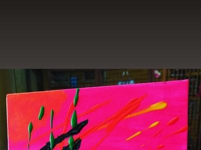 Neon neon colors neon paintings painting art