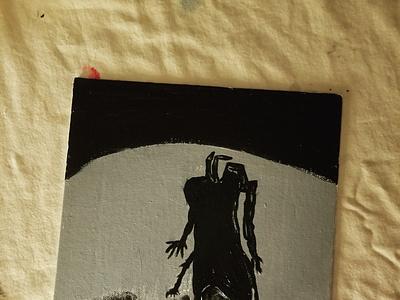 Boyfriend dark paintings painting art