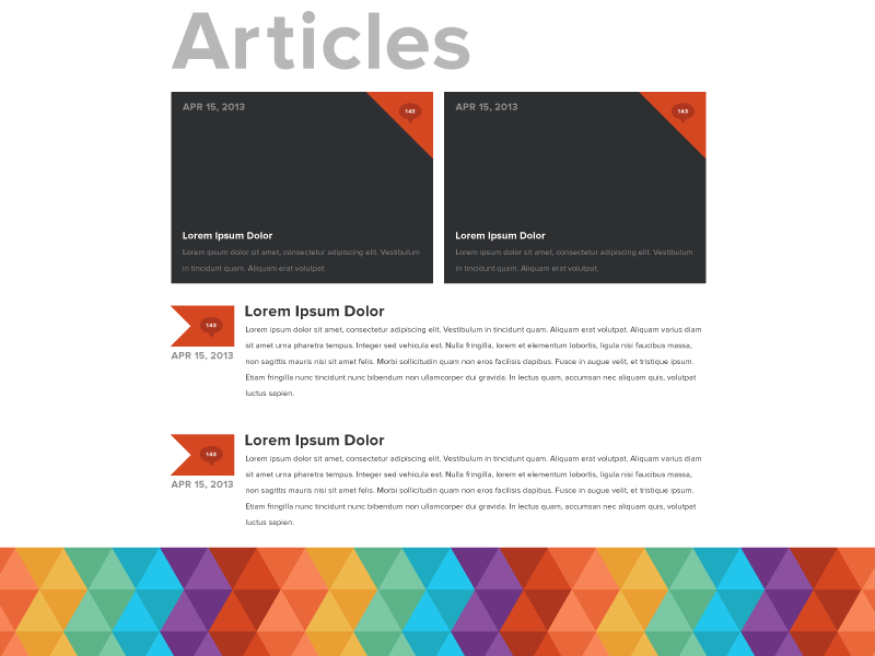 Matthew Dimmett Creative: Articles personal portfolio proxima nova black gray rainbow