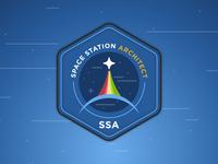 Space Station Architect Logo