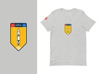 Nasa Gemini T-Shirt (Order Now!) apparel gray badge t-shirt gemini nasa