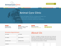 Animal Care Clinic Redesign