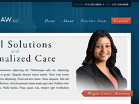 Lewis Law LLC Redesign