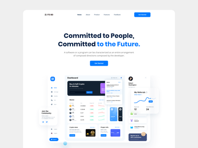 SaaS Landing Page product page webdesign website design chart analytic analytics chart saas landing saas landing page dashboard animation dashboard app dashboard design modern saas website saas app template landing design landing pages analytics