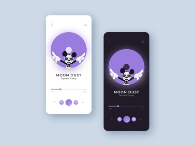 Music player app drawing product design typography print web design layout player ui player play vector ux ui mobile minimal illustration design app