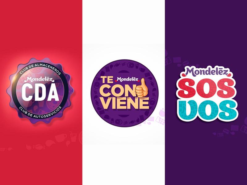 mondelezvarios incentive photoshop illustrator vector promotion design typography logo illustration branding