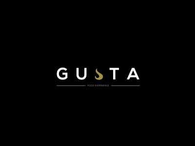 gusta vector illustrator design typography logo illustration branding
