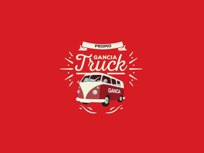 GANCIA TRUCK gancia gancia illustrator photoshop vector promotion design logo typography illustration branding
