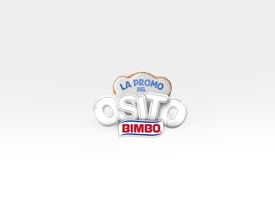 PROMO OSITO bimbo photoshop illustrator promotion vector design typography logo illustration branding