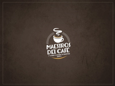 maestrosdelcafe photoshop illustrator promotion vector design typography logo illustration branding