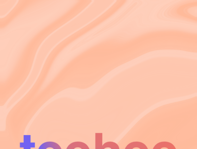 teehee app minimal branding design illustration
