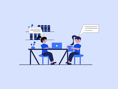 Communication illustration design