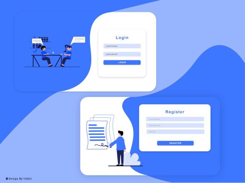 Auth Design web ux ui design