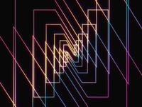 Normal Ident teaser sound design retro animation branding ident