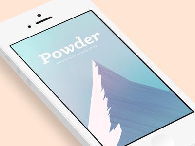 Powder - Mountain Simulator