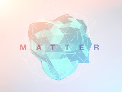 Matter Visualizer visualizer unity matter fx procedural morph low poly polygon 3d audio music unity3d