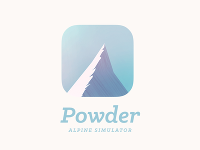 Powder   Alpine Simulator
