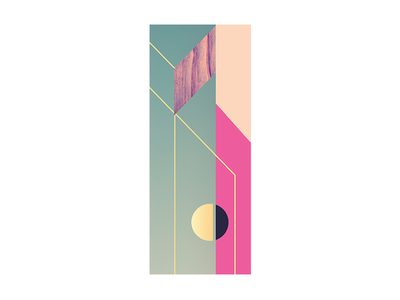 community minimal geometric color abstract