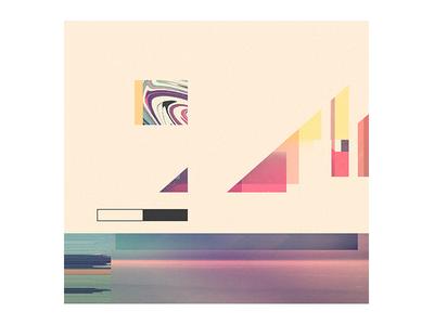 shuttle art retro abstract minimal