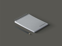 Note Pad for Paul Bros