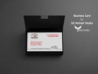 Business Card - SD Portrait Studio