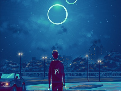 Eclipse stars starry sky starry night sky eclipse stormy concepts environmental design enviroment concept design clouds concept art environment concept cloudy cloud