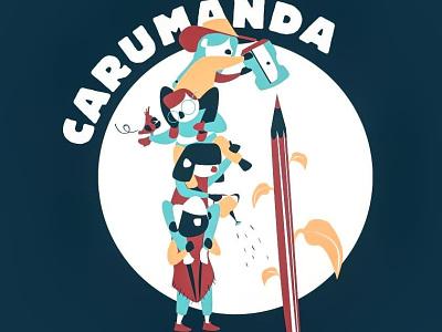 CARUMANDA ong illustration graphicdesign digitalart design creative