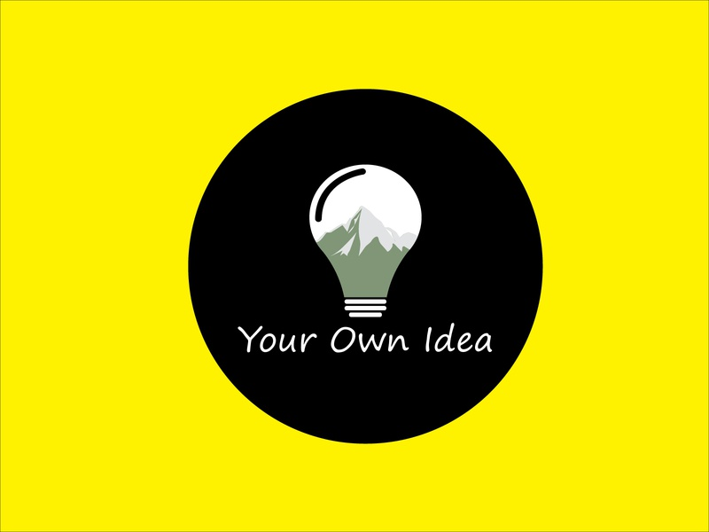 Your Own Idea vector bright design symbol success lamp inspiration technology creativity lightbulb light concept innovation bulb solution creative business idea