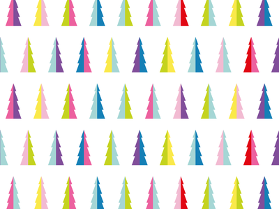 Christmas Trees pattern christmas tree illustrator vector pattern vector illustration vector christmas kids surface pattern design surface pattern pattern designer illustration pattern design pattern
