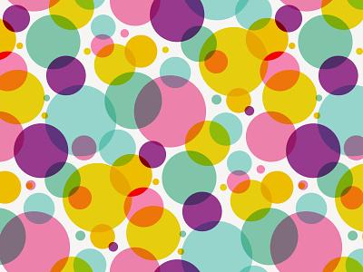 Bubble Gum Circles vector pattern vector surface pattern design surface pattern pattern designer pattern design pattern