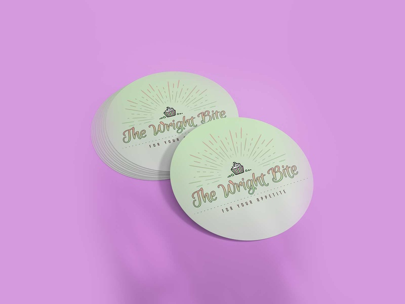The Wright Bite - Logo Design logo logodesign logo design graphic design design branding brand design
