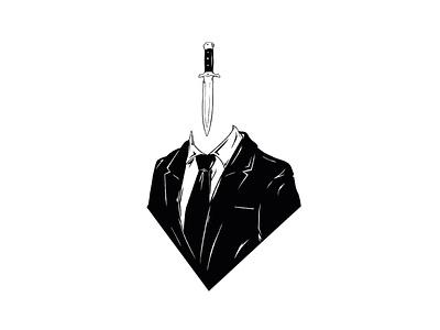 Illustration - Damocles ink procreate illustration design