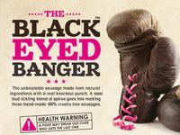 Black Eyed Banger vegan sausages