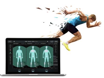 Diocles - Web App biometric analytics data 3d athletes