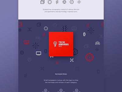 Tech Awards icon / logo design technology tech-awards tech line lamp innovation design icon electronics