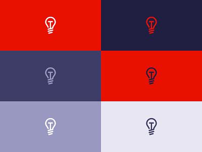 Tech Awards icon / logo design technology tech-awards tech line lamp innovation icon electronics design