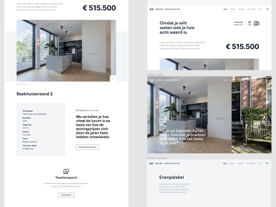 Walter Living - Design in progress clean photography buying home ux typography branding design ui comparison icons line