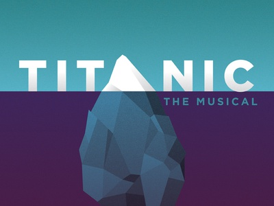 titanic   show poster
