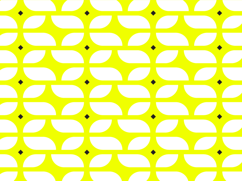 pattern repeat white black abstract yellow neon