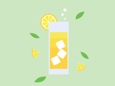 Mai Tai icon vector minimal logo illustrator design clean art illustration flat