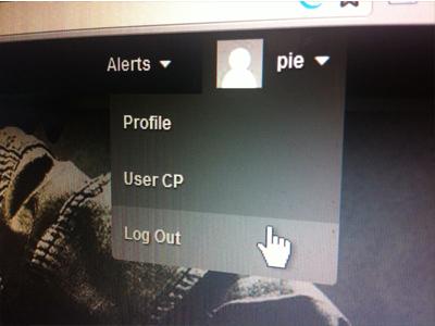 Profile Dropdown dropdown menu hover profile