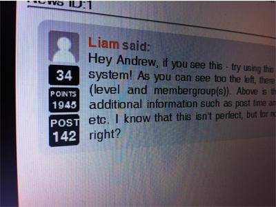 Comments comments forum