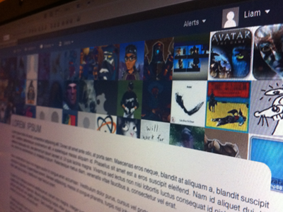 Member Page Header header ui website members users