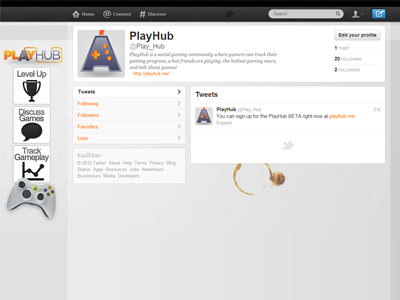 Twitter Background twitter background playhub gaming controller