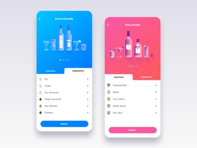 Barlender | Cocktail & private bartender app