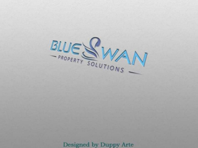 Logo For Blue Swan logo branding unique